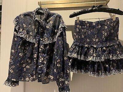 Isabel Marant Etoile Top Snd Skirt