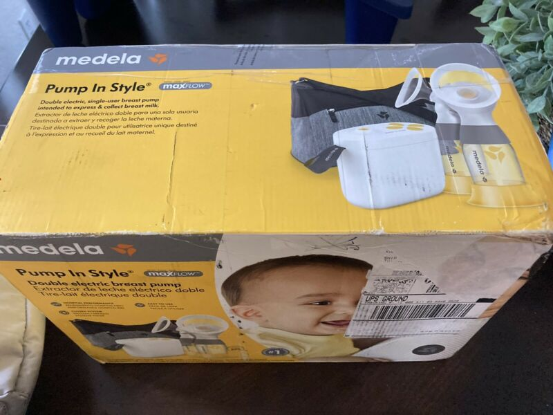 Medela Pump In Style Double Electric Breast Pump with MaxFlow Technology NEW