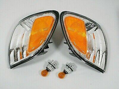 fits 00-04 Toyota Tundra TURN SIGNAL LIGHT LAMP w BULBS PAIR L & R Exclude 2xcab