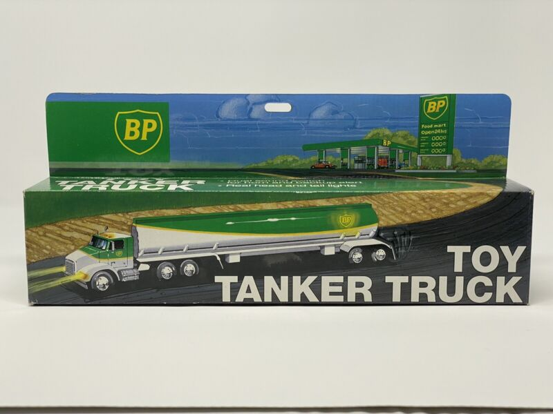 🚚 🚚 1991 BP Toy Tanker Truck- New Old Stock/New In Box 🚚 🚚 - Vintage