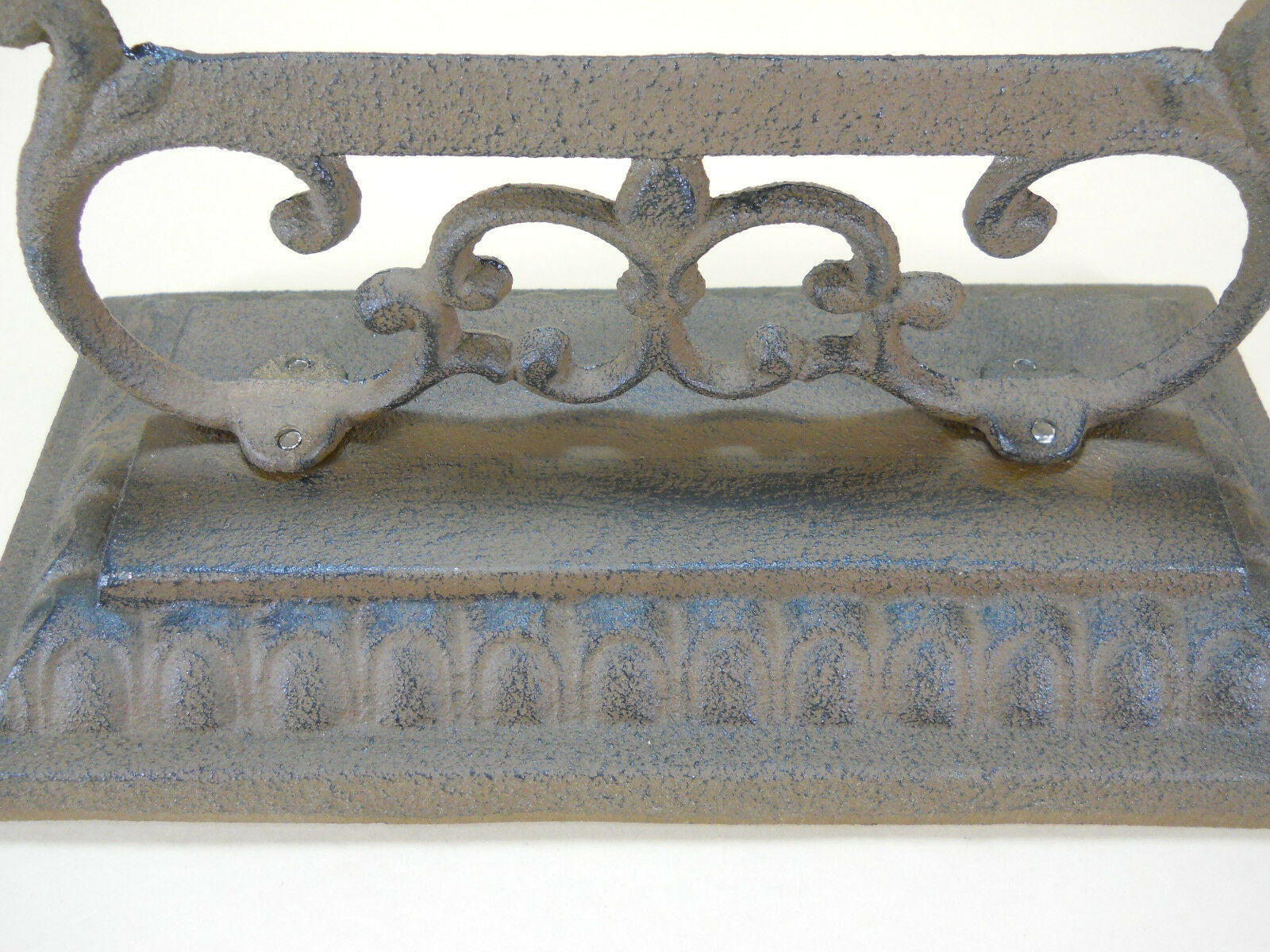 "Boot Scraper Cast Iron Vintage Style Farm Garden Mud 10"" wide Room Portable"