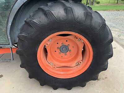 Kubota Tires And Wheels Front 8x16 Rear 14.9x24