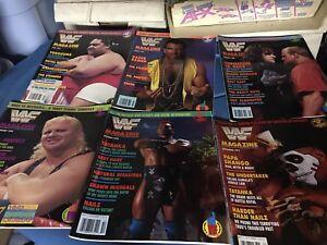 WWF Magazines