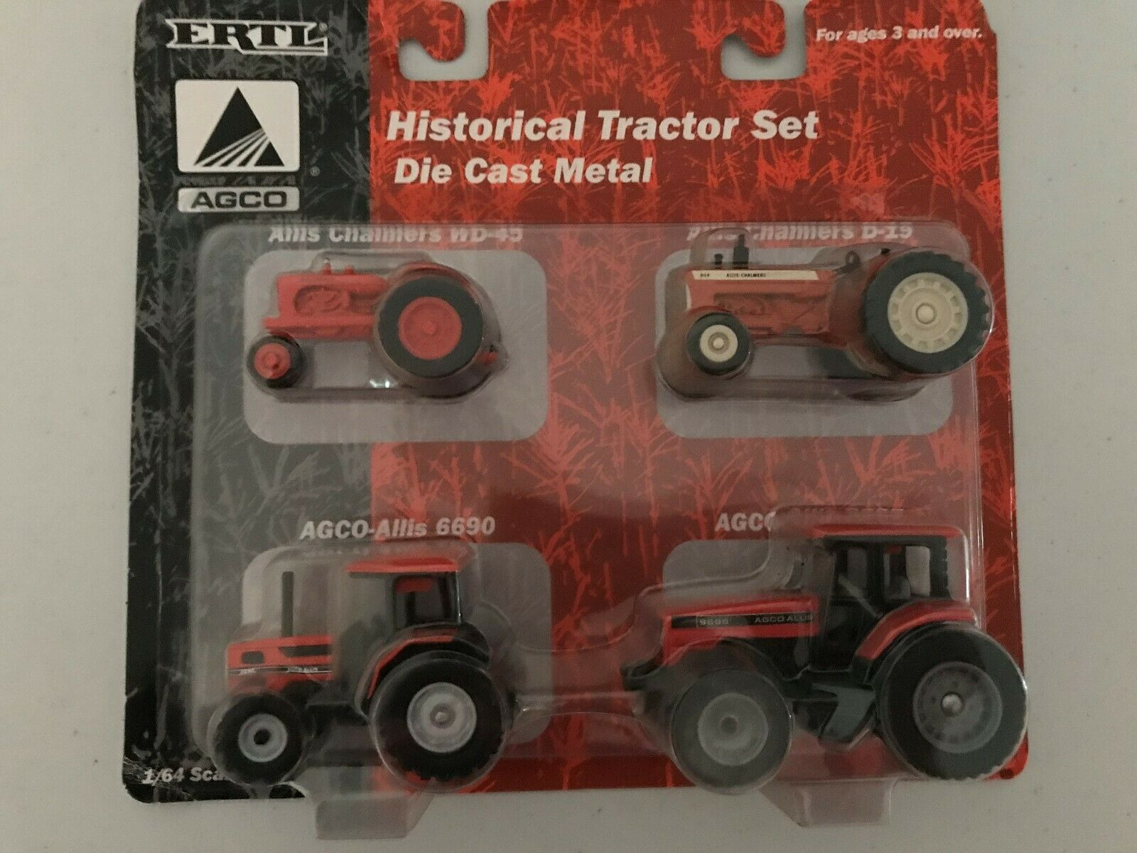 1/64th AGCo Historical Tractor Set #13187
