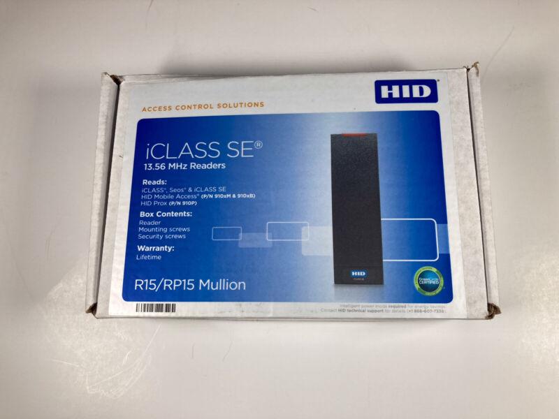 HID R15/RP15    Multi CLASS SE RP 15 Mullion Reader     910NTNNEKE00000 New
