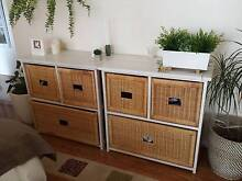 Cane Drawer storage units Cronulla Sutherland Area Preview