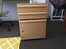 Moveable Draws with Filing Cabinet, Good Condition Daceyville Botany Bay Area Preview