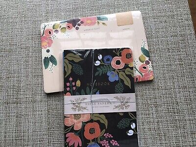 Rifle Paper Co.weekly List Desk Plannernotebook Lot 2