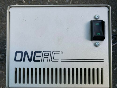 ONEAC CP1105 Power Conditioner 120V 4.6A 60Hz P/N 006-193