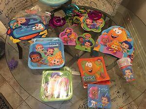 Bubble guppies birthday supplies