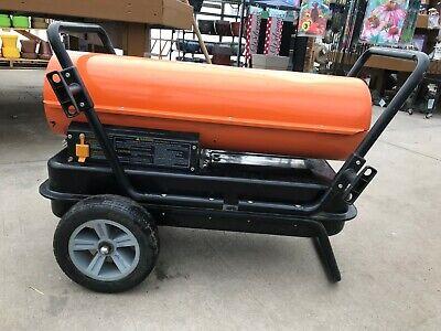 Dayton Portable Kerosene Oil-fired Torpedo Heater 125000btu Model 3ve50