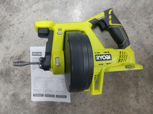 RYOBI 18V Cordless Drain Auger Model# P4001