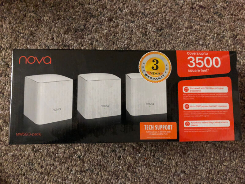 Tenda Nova  Wireless Router Whole Home mesh System.