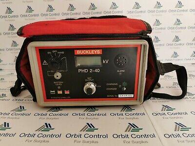 Buckleys Phd 2-40 Pinhole Holiday Detector New Battery