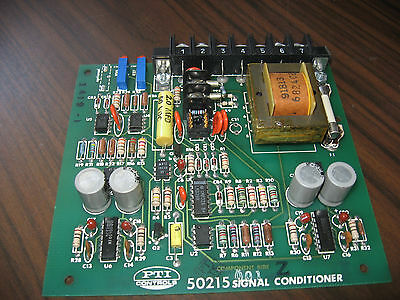 Pti Controls 50215 Signal Conditioner
