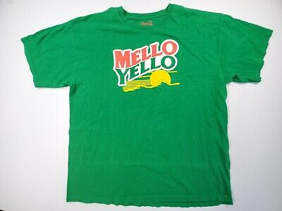 Coca-Cola Mello Yello Green T-shirt XL Adult Coca-Cola Label