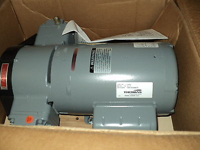 Thomas Industries 270080 Compressor Pump 34 Hp 115230volt