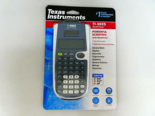 Texas Instruments TI-30XS MultiView Scientific Calculator(Blue) / Factory Sealed