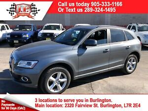 2016 Audi Q5 2.0T Komfort, Auto, Leather, Sunroof, AWD