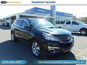 2013 Chevrolet Traverse LTZ PST Paid - 2 Sunroofs - DVD Players