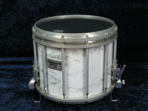 Pearl 12x14 Marching Snare Drum Ser#930316 Marble Laminate over Wood