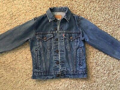 Levi's Jean Jacket 70706-0216 - Kids Size 14 - (5536)