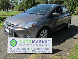 2012 Ford Focus SE, AUTO, INSP, WARR, LOAD