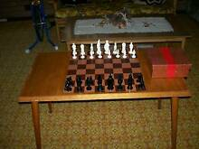 Chess set + table Corlette Port Stephens Area Preview