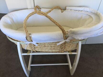 d061e9a7d70 Moses Basket Crib Bassinet