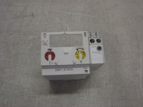 MOELLER ZMR-1,6-PKZ2 Motor Protector Trip Block with ZMR Overload 14-22 Amps NEW