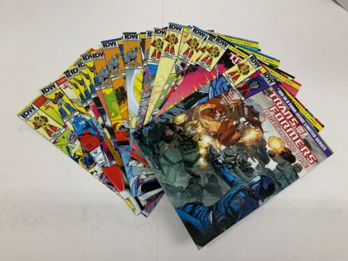 Transformers Regeneration One #0, 81-100 (2012) COMPLETE RUN All Cover B NM-/NM