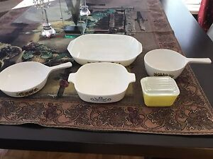 Vintage Corning Ware & Pyrex Lot for $20