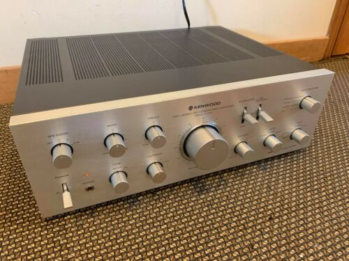 Vintage Kenwood KA-601 Stereo Integrated Amplifier