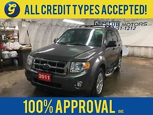 2011 Ford Escape LEATHER*POWER SUNROOF*KEYLESS ENTRY w/REMOTE ST