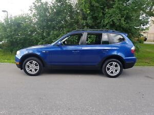 2007 BMW X3  3.0I LEATHER SUNROOF LOADED CERTIFIED $7475