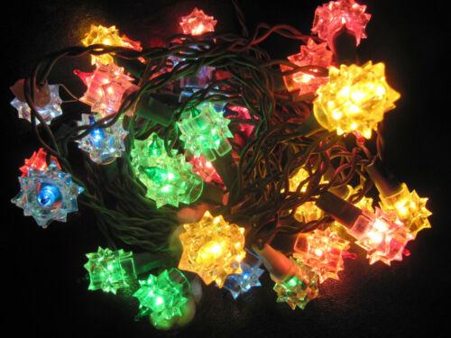 35 vtg Christmas Starburst Light Covers Reflectors sets Midget Lights