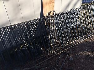 "30' steel wrought iron fence 36"" tall"