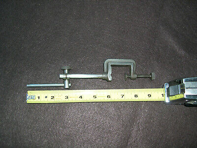 Machinist Indicator Clamp With 516 Post Snug 14 Rod 3 Long