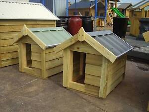 dog kennel small timber dog kennels - Garden Sheds Galore