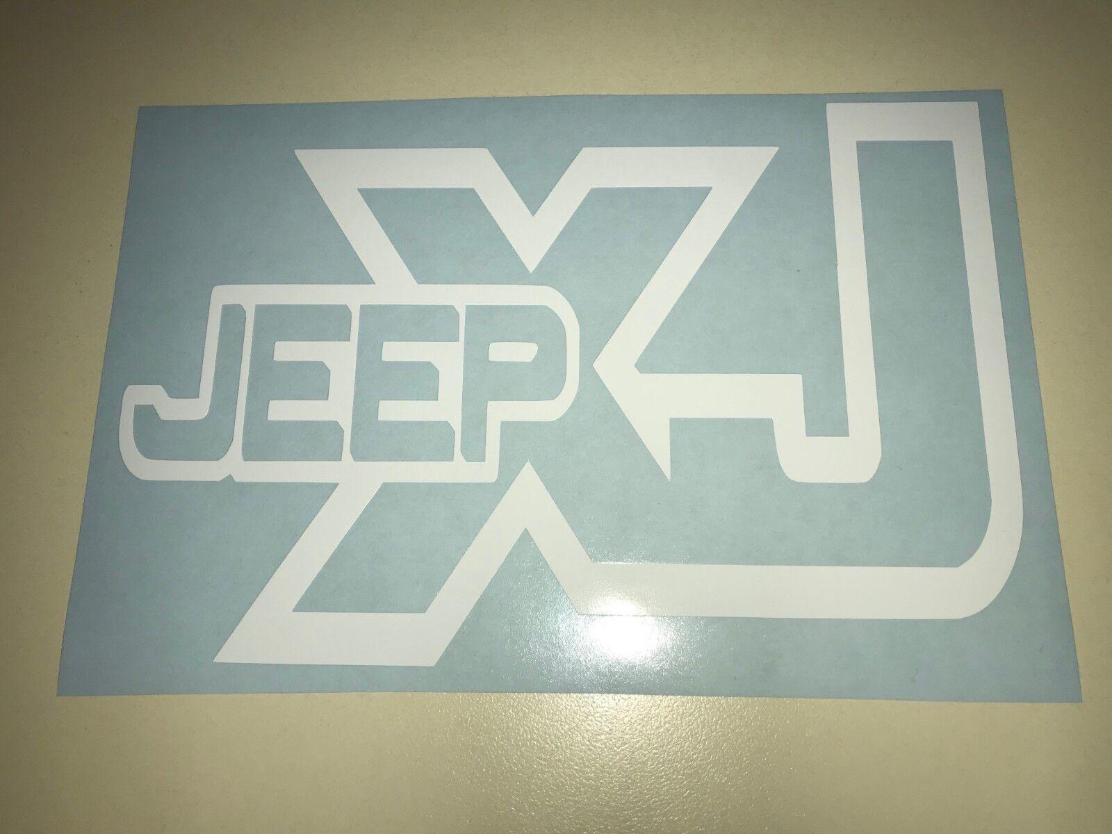 Window Toolbox Stickers #995 Jeep XJ Sticker