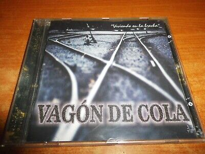 VAGON DE COLA Viviendo en la brecha CD ALBUM DEL AÑO 2000 CONTIENE 11 TEMAS (En La Brecha)