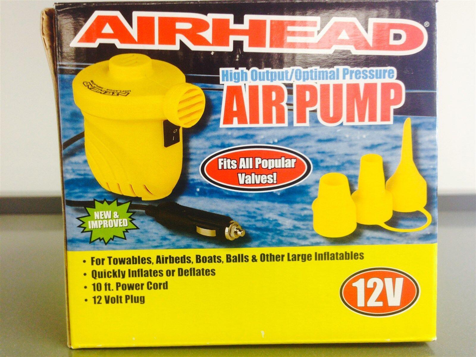Kwik Tek AHP-12H Airhead 12 Volt Air Pump For Inflatables