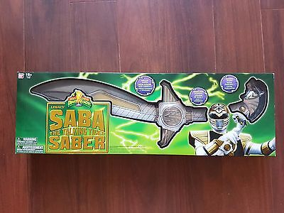 MMPR Mighty Morphin Power Rangers Legacy Saba Saber Sword BRAND NEW SEALED