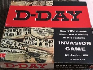 D-Day boardgame