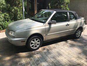 Volkswagen Cabriolet GLX 1998