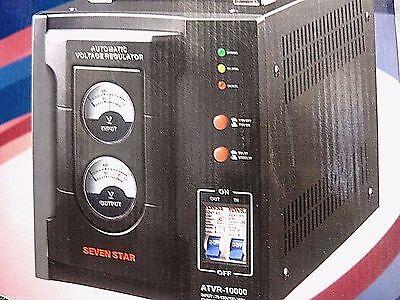 Seven Star NEW 15000 Watt Voltage Converter PLUS Stabilizer 110V 220V ATVR-15000