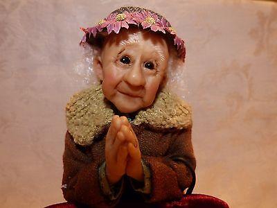 Richard Simmons Nana's Family Vernetta Prayer Doll with Box * COA# 6  Annie Wahl