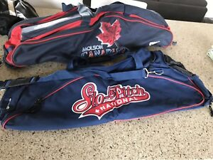 2 softball storage bags