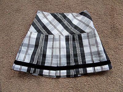 EXQUISITE Girl's DESIGNER Tartan Skirt by K.C.PARKER Age 4 From USA