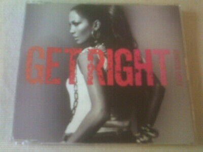 JENNIFER LOPEZ - GET RIGHT - 2 TRACK CD SINGLE